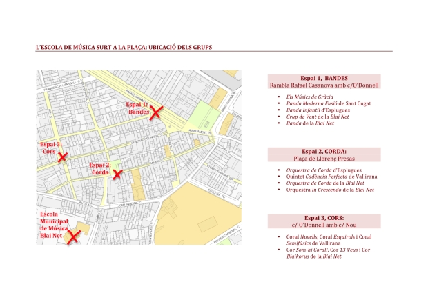 Planol situació grups 17 de maig