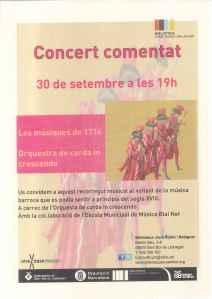 Cartell Concert 1714