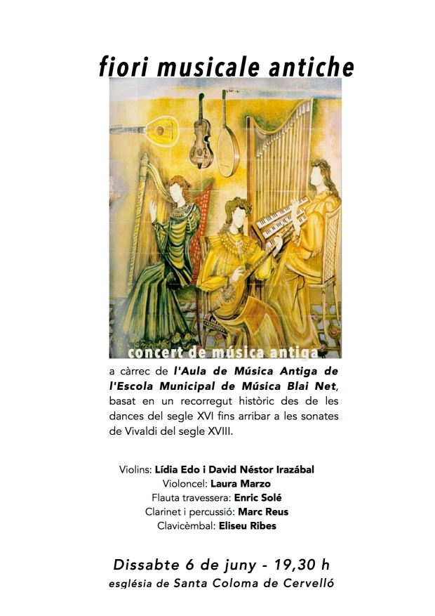cartell concert sta coloma