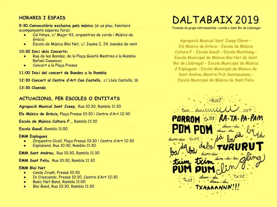 DALTABAIX 2019 INSTRUCCIONS COLOR